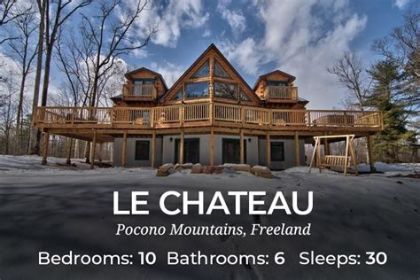 Pocono Cabin Rentals With Tubs by Cabins For Rent Near Poconos Pa Cabin Rentals For Groups