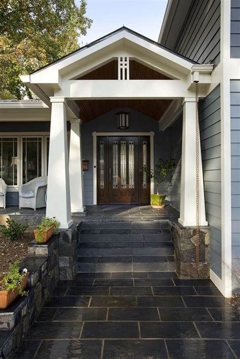 split level house with front porch split level remodel pinterest crafts