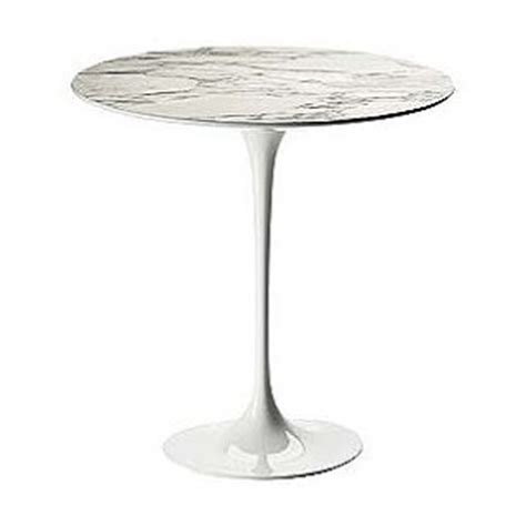 copy cat chic design within reach saarinen marble side table