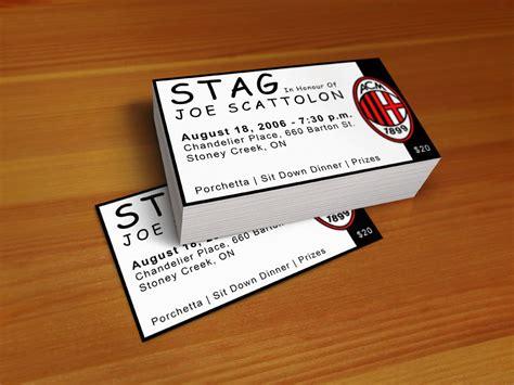 free printable stag tickets print design portfolio epic studios brochures