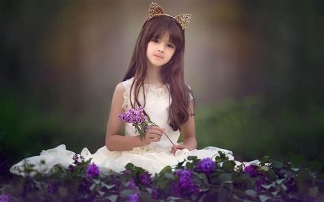 wallpaper girl little cute pretty little girl desktop wallpaper