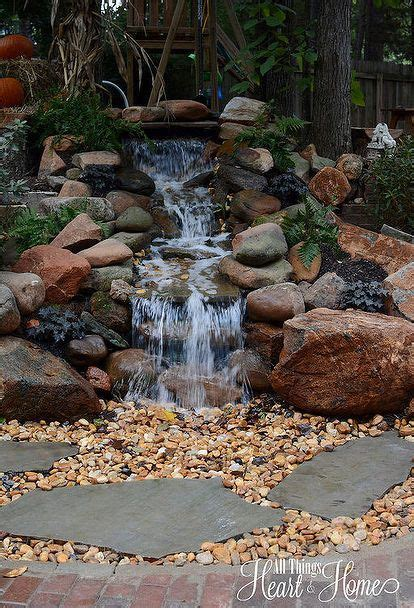 pictures of backyard waterfalls and streams 885 best backyard waterfalls and streams images on
