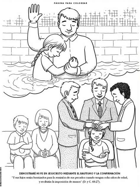 imagenes de bautismo sud quot yo trato de ser como cristo quot taller de escrituras