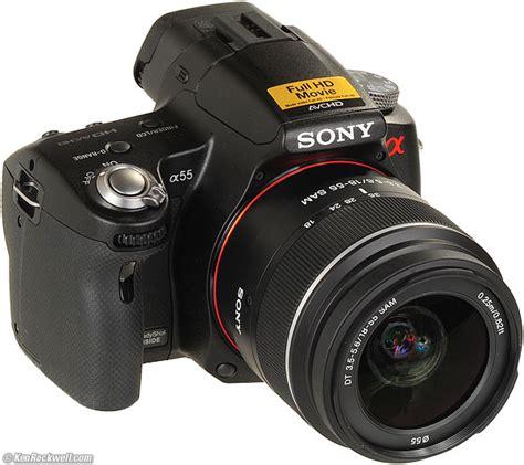 Kamera Sony Slt A55 sony a33 a55 and a55v