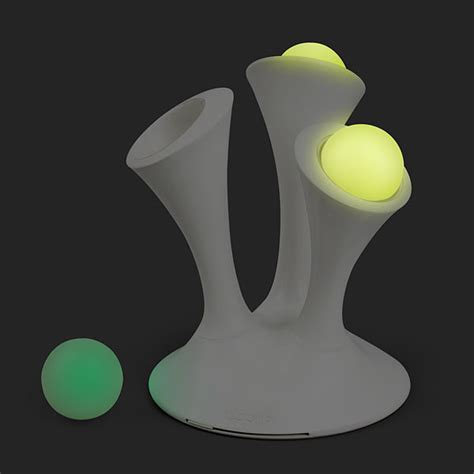 Glowing L With Removable Balls by Glo Nightlight With Glowing Balls Thinkgeek