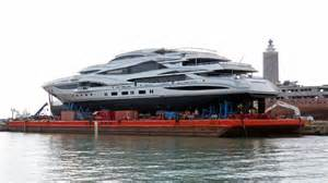 New lionheart launched benetti s biggest boat megayacht news