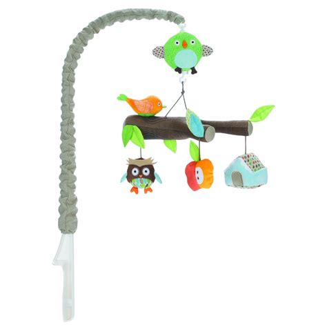 Skiphop Treetop Friends Crib Musical Mobile skip hop treetop friends musical cot mobile better baby shop