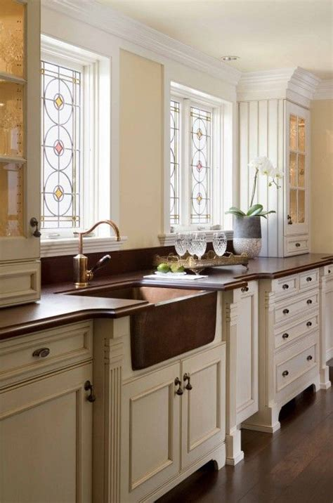 copper sink white cabinets white cabinets countertop wood floor copper sink kitchen copper sinks