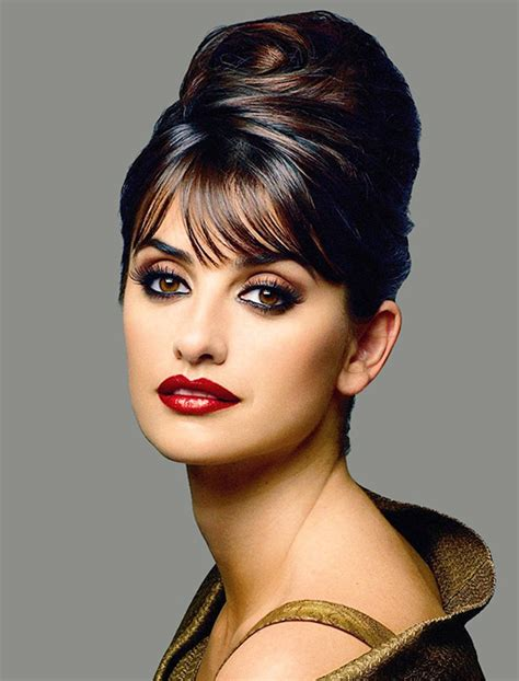 penelope cruz hairstyles 2015 glamorhairstyles penelope cruz behive updo the latest trends in women s