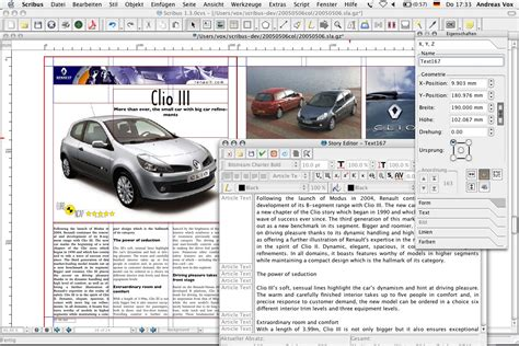 Scribus Newspaper Template newsletter templates for scribus images