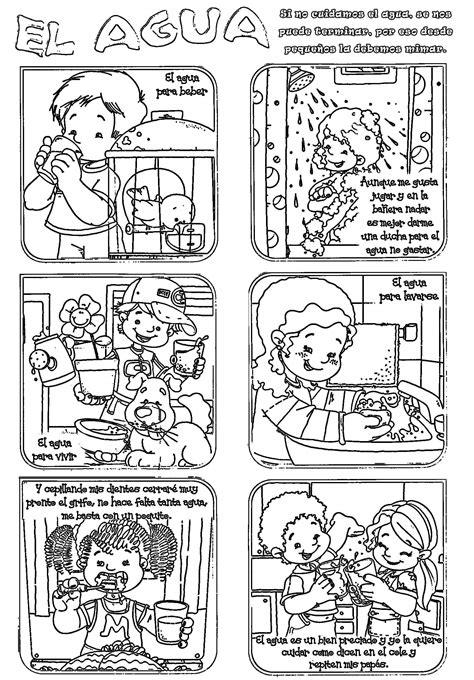 dibujos para colorear sobre agua dibujos para colorear del cuidado del agua imagui