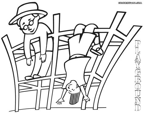 Playground Coloring Pages Coloring Pages To Download And Playground Coloring Pages
