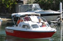 half cabin boats qld gold coast boat hire bbq pontoon party boats capri boat hire