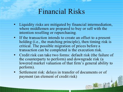 Financial Analysis Mba Management by Financial Risk Management Ppt Mba Finance