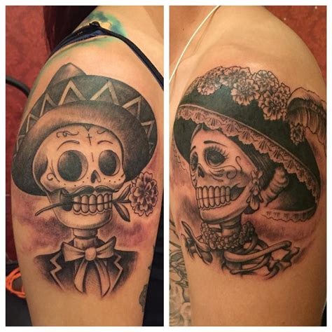 day of the dead couple tattoo quot a day of the dead for a
