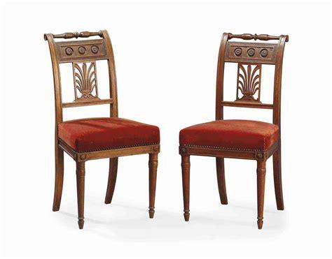 chaise directoire paire de chaises d epoque directoire vers 1800 christie s
