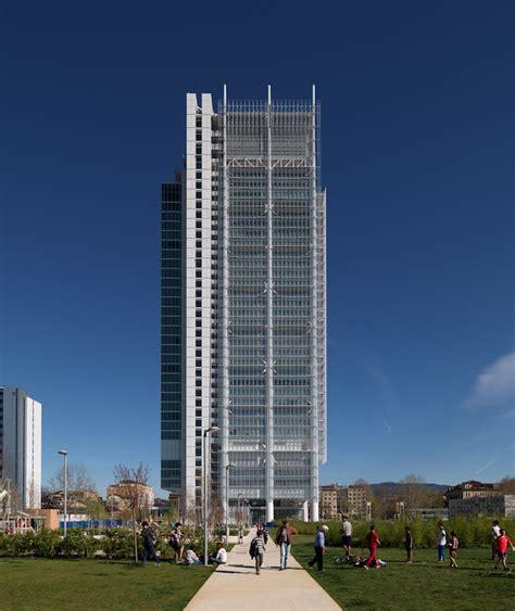 Banca Intesa San Paolo Bolzano by Intesa Sanpaolo Tower Torino Renzo Piano Building