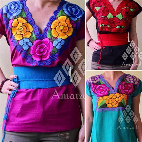 Fiore Shirt Wolfice Atasan Shirt Atasan Blouse Wanita Terlaris blusa artesanal de chiapas flores bordadas en varios