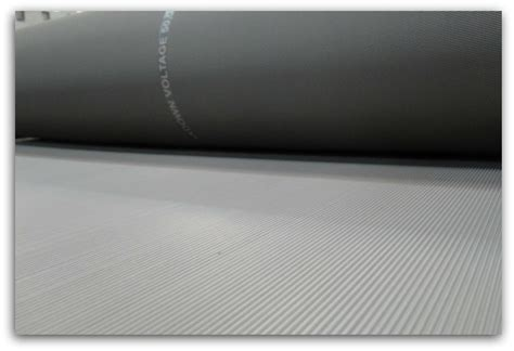 Dielectric Mat by Electrical Rubber Mat Insulation Mat Confirming Iec 61111