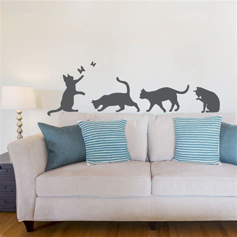 cat wall sticker cat wall decals roselawnlutheran