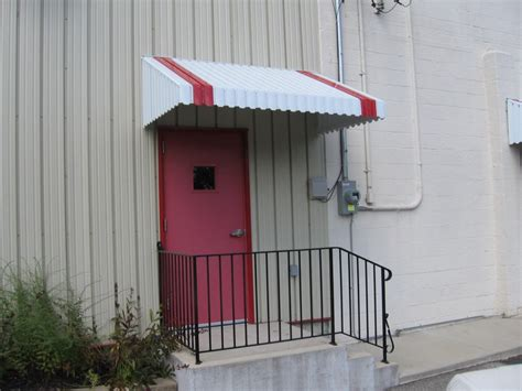 Aluminum Door Awnings by Aluminum Entry Door Awnings American Hwy