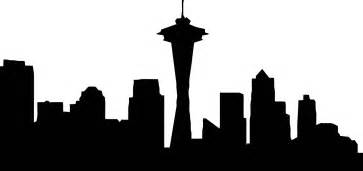 Cityscape Vector Outline by Seattle Skyline Outline Cliparts Co