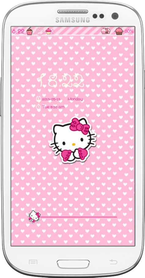 Hello Kitty Locker Themes | hello kitty go locker theme android themes