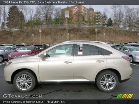 lexus satin metallic satin metallic 2014 lexus rx 350 awd