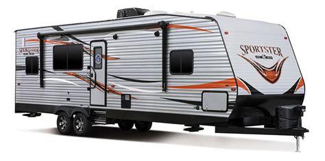 kz rv travel trailers fifth wheels toy haulers sportster 300thr travel trailer toy hauler k z rv