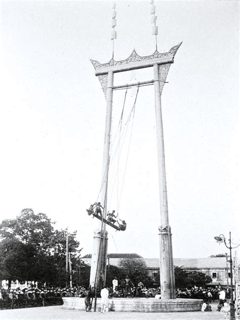 the giant swing grand tour bangkok s giant swing history today