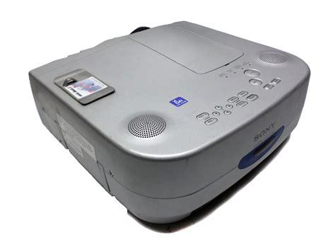 Lu Lcd Projector Sony sony lcd data projector vpl px20 w 561 l hours ebay