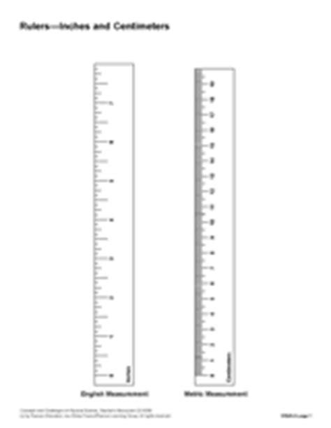 printable rulers for students printable 12 inch ruler measurement 1st 5th grade