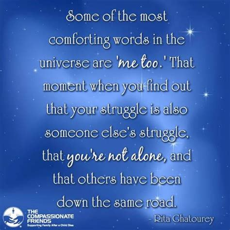 Comforting Words For Of A Child by Comforting Quotes On Quotesgram