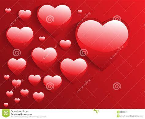 bellas imagenes de amor en 3d corazones brillantes 3d stock de ilustraci 243 n ilustraci 243 n