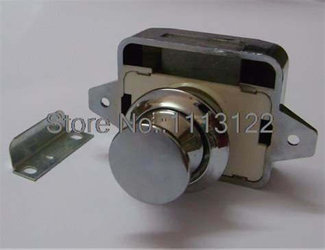 cabinet door push latch push button cabinet latch for rv motor home cupboard