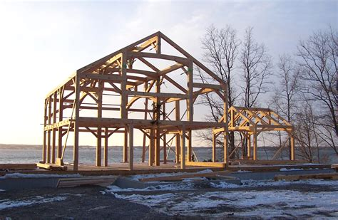 lighthouse home timber frame study