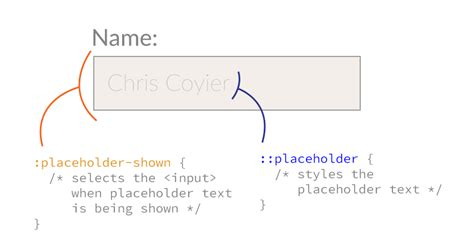 placeholder text color placeholder css tricks