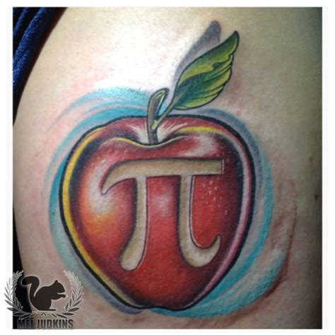 meljudkins apple pi teacher unique apple math fruit color pi