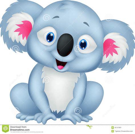 imagenes animadas koala cute koala cartoon stock vector image 45747681