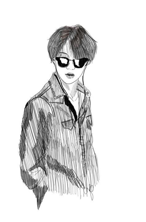 sketch book exo oh damn sehun we it exo sketch and exok