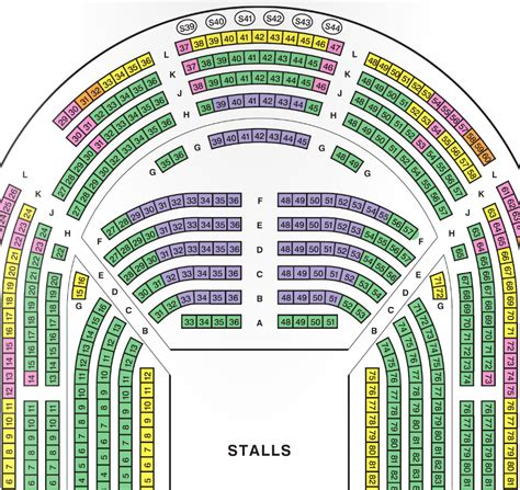 theatre royal seating chart seating plans royal shakespeare company