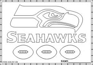 seahawks color free coloring pages of seahawk