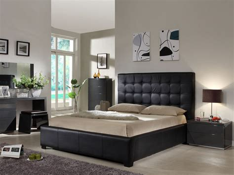 bedroom design black furniture 15 elegant black bedroom furniture design ideas