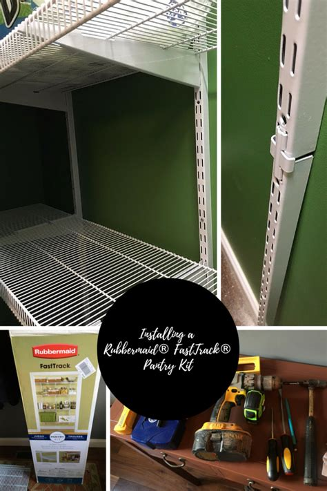 Fast Track Closet by Closet Organization Tips Installing Rubbermaid 174 Fasttrack
