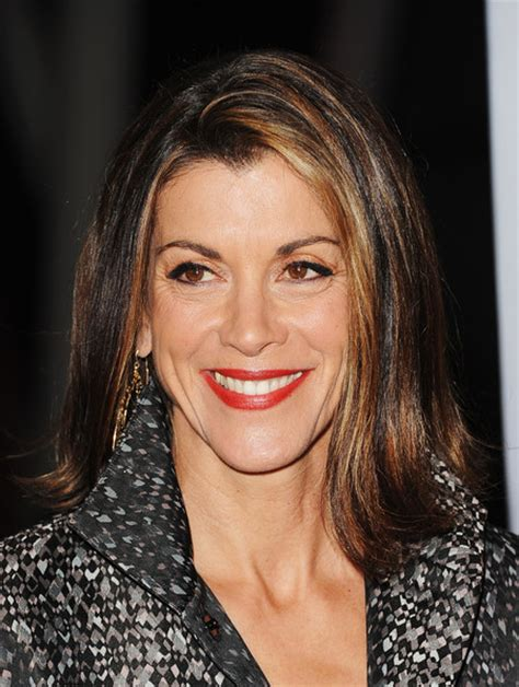wendie malick hairstyle with bangs wendy malick photo with bangs wendie malicks bangs
