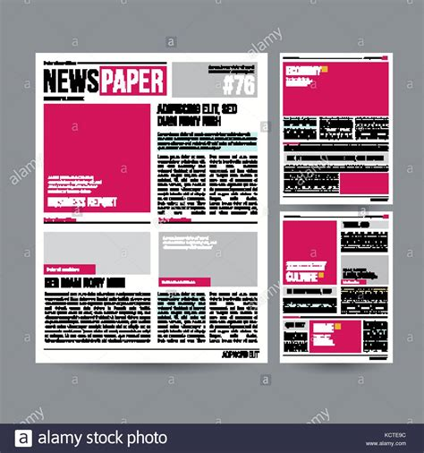 tabloid article template gallery templates design ideas