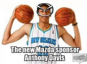 Anthony Davis Memes - unibrow basketball player memes