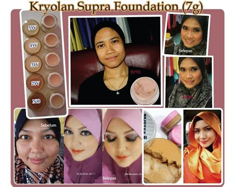 Kryolan Foundation Foundation Artis 2 cantik itu universal kryolan supracolour foundation