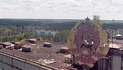 Diy Drone by Post Apocalyptic Aerial View Of Pripyat And Chernobyl