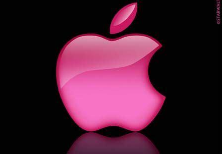 girly apple wallpaper pink apple logo wallpaper ilife pinterest logos